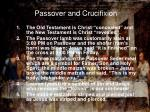 passover and crucifixion