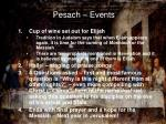 pesach events