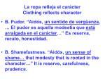 la ropa refleja el car cter clothing reflects character19