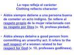 la ropa refleja el car cter clothing reflects character20