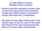 la ropa refleja el car cter clothing reflects character23