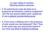 la ropa refleja el car cter clothing reflects character25