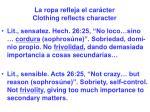 la ropa refleja el car cter clothing reflects character27