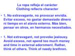 la ropa refleja el car cter clothing reflects character31