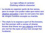 la ropa refleja el car cter clothing reflects character55