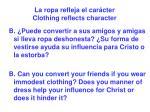 la ropa refleja el car cter clothing reflects character62