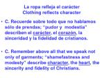la ropa refleja el car cter clothing reflects character63