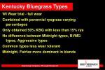kentucky bluegrass types45