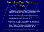 from sun tzu the art of war