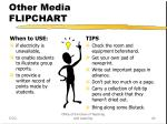 other media flipchart