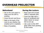 overhead projector16