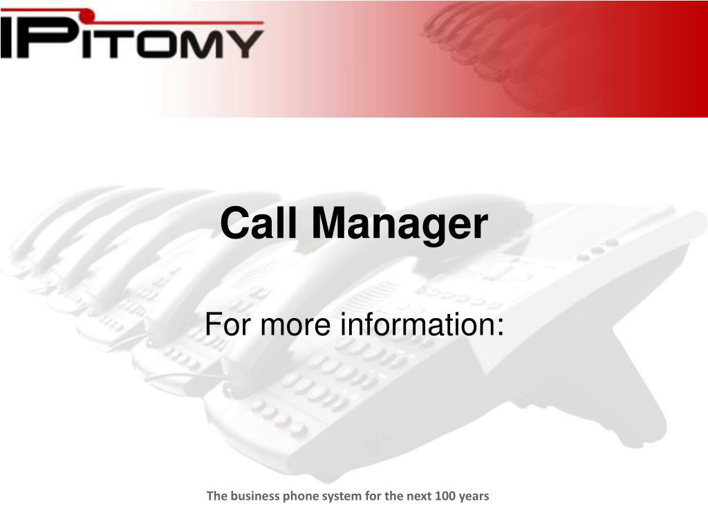 Call Manager