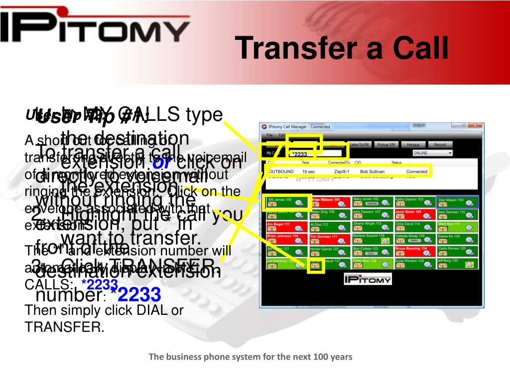 Transfer a Call