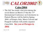 calor2004
