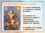 the damietta initiative seeks