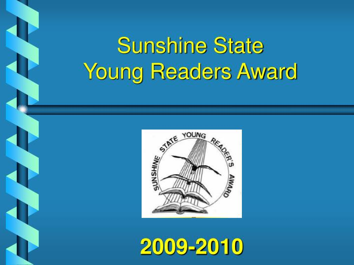 sunshine state young readers award n.