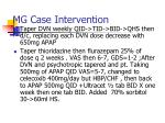 mg case intervention
