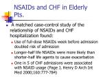 nsaids and chf in elderly pts