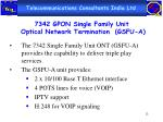 7342 gpon single family unit optical network termination gsfu a