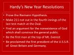 hardy s new year resolutions30