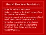 hardy s new year resolutions31