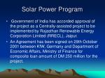 solar power program38