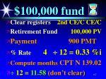 100 000 fund137