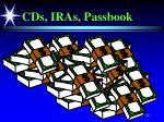cds iras passbook