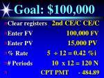 goal 100 000128