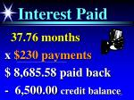 interest paid100