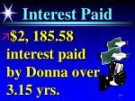 interest paid101