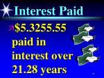 interest paid91
