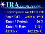 ira single person35