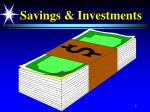savings investments