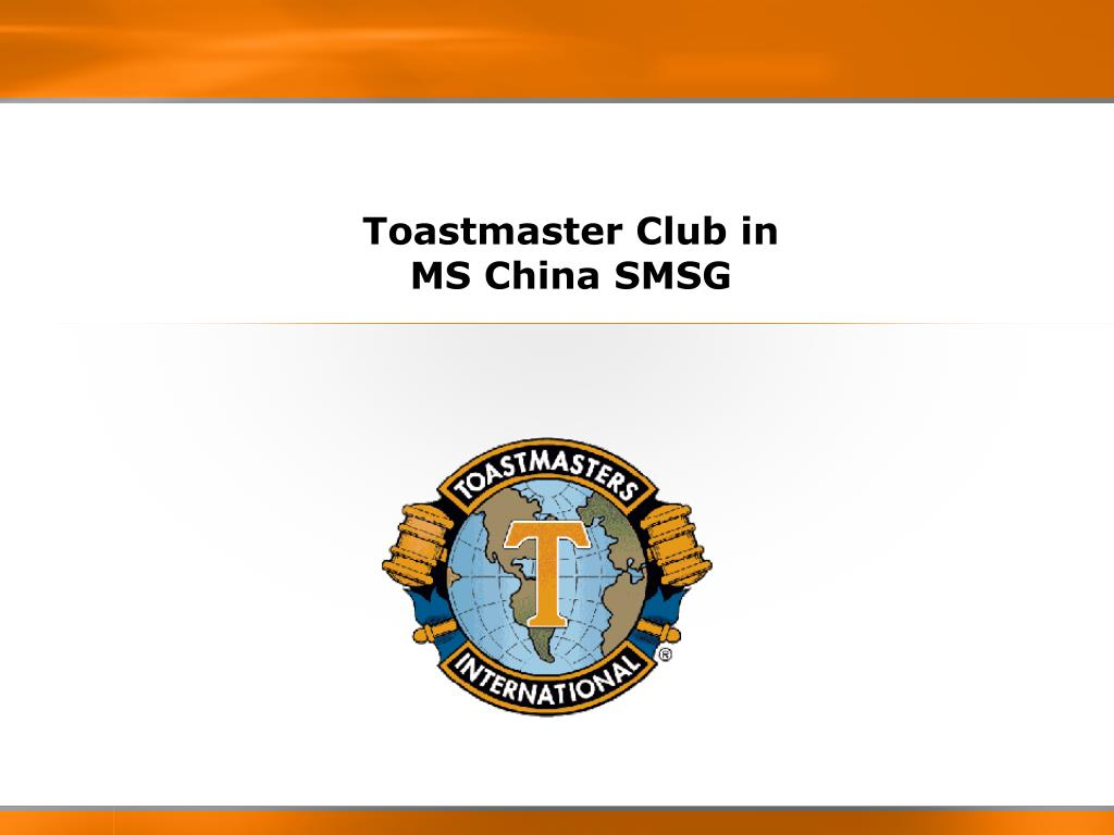 toastmaster club in ms china smsg l.