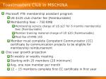 toastmasters club in mschina8
