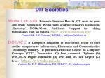 dit societies12