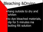 bleaching drying63