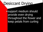 desiccant drying11