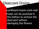 desiccant drying17