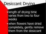desiccant drying18