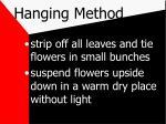 hanging method6