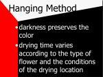 hanging method7