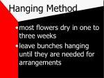 hanging method8