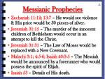 messianic prophecies69