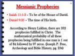 messianic prophecies70