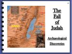 the fall of judah archaeological discoveries
