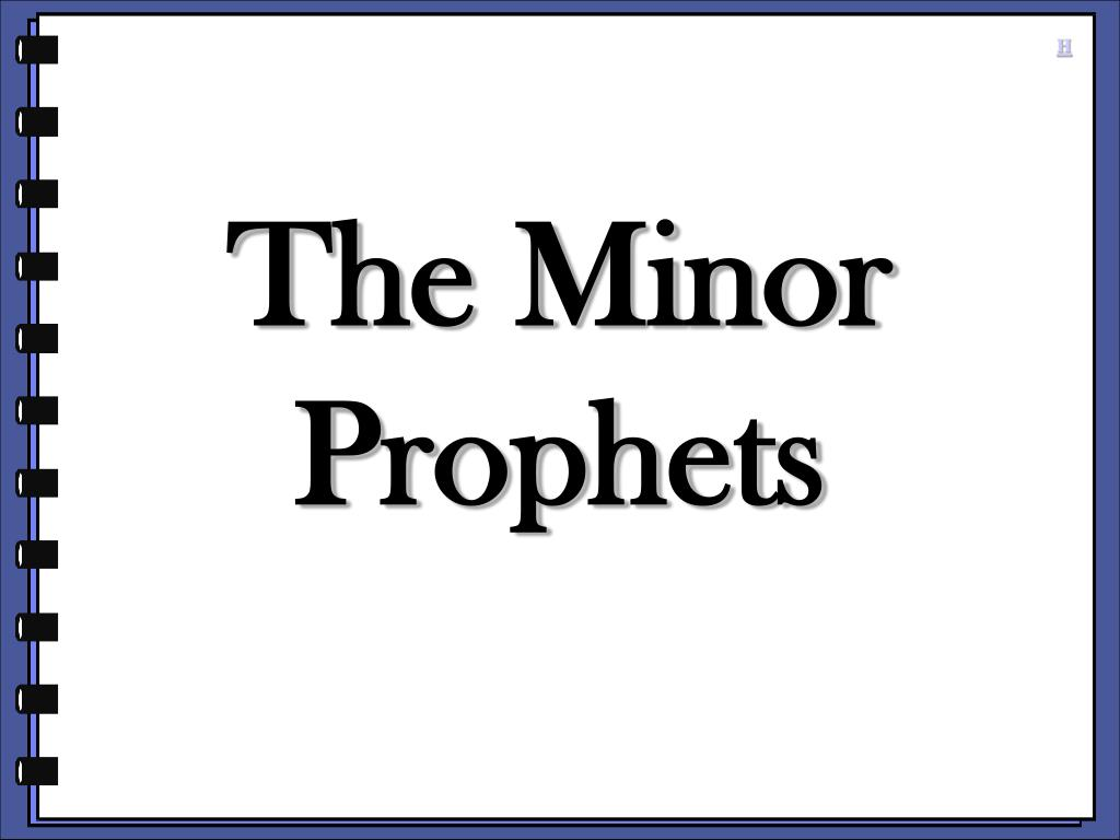 the minor prophets l.