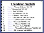 the minor prophets5