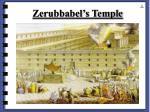 zerubbabel s temple